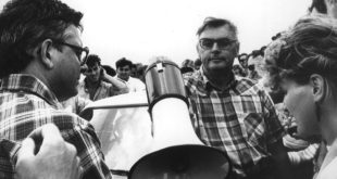 143-Tüntetés a bősi vizierőmű ellen 1991