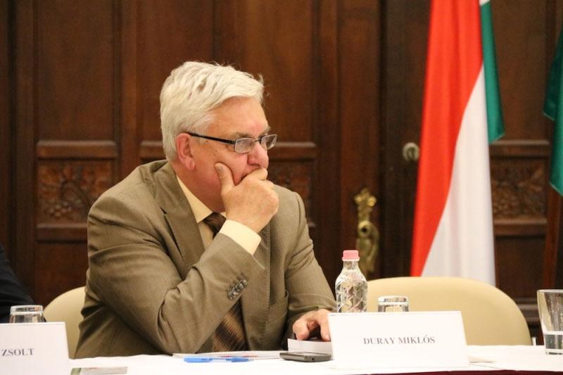 Duary Miklós (Fotó: Szinek János, Felvidék.ma)
